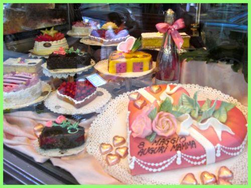 Cake Shop, Via Montenapoleone, Milan