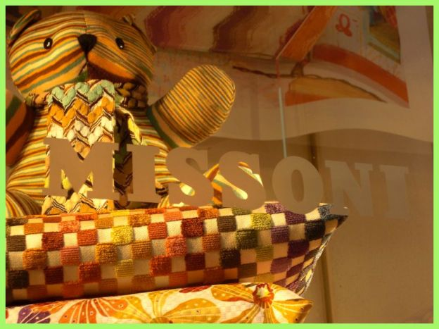 Missoni, Shopping, Via Montenapoleone, Milan, Italy