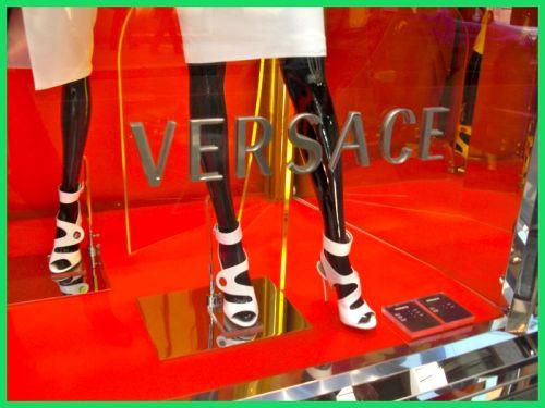 Versace, Via Montenapoleone, Milan