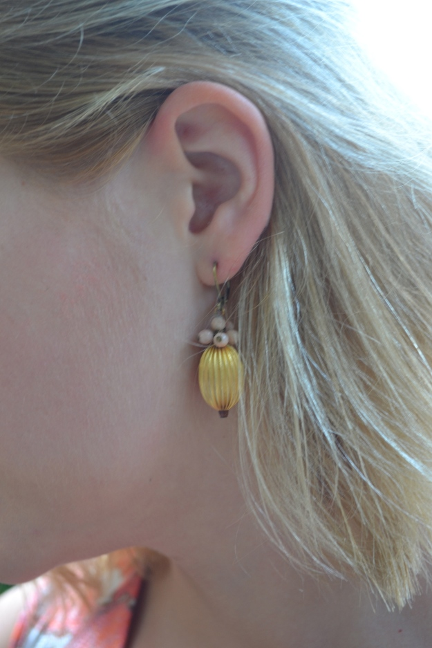 Earrings: Paul Smith