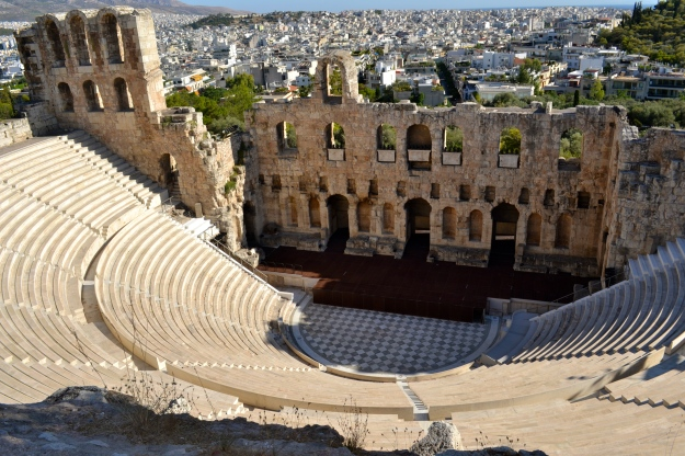 Theater of Dyonisus, Acropolis Hill, Athens, Greece