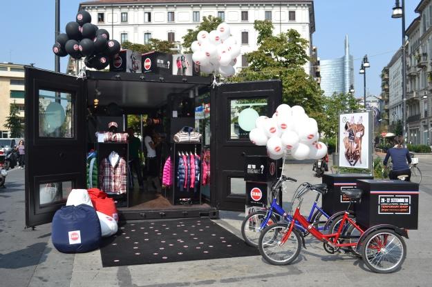 Temporary Colmar Store, Moscova, Milano