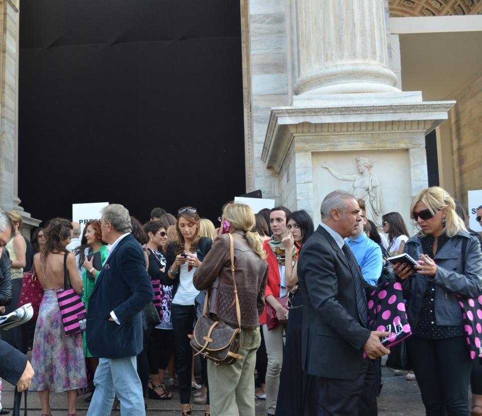 Roberto Cavalli Show, Arco della Pace, Milan