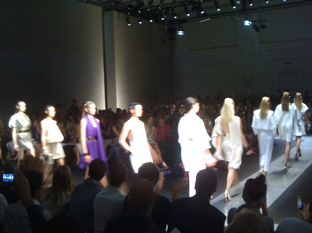 Gianfranco Ferre Fashion Show, Via Pontaccio, Milano