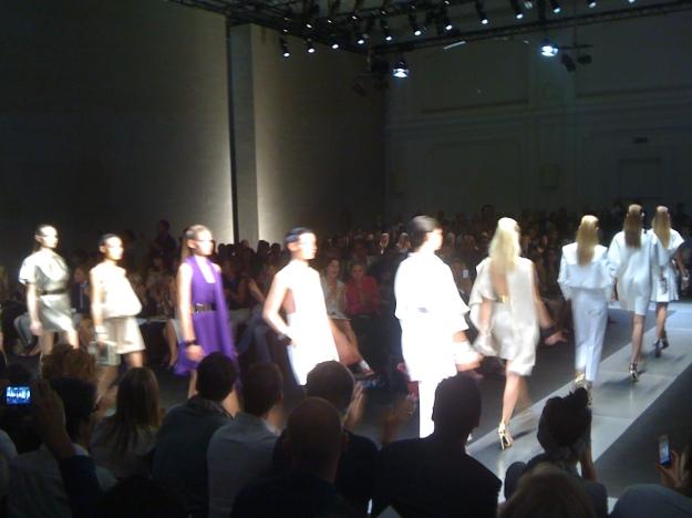 Gianfranco Ferre Fashion Show, Via Pontaccio, Milano