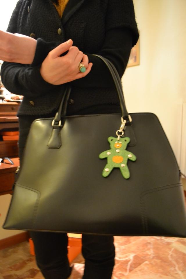 """Gerard Darel Bag, Prada """"Bag Toy"""", Ring: London Fashion Weekend"""