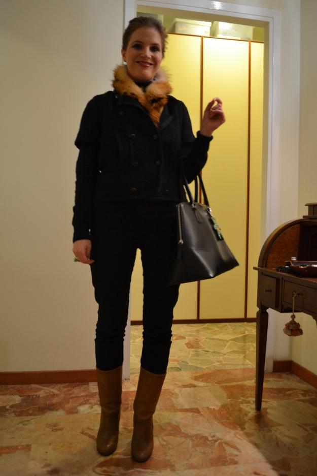 Uniqlo Jeans & Comptoir des Cotonniers Boots