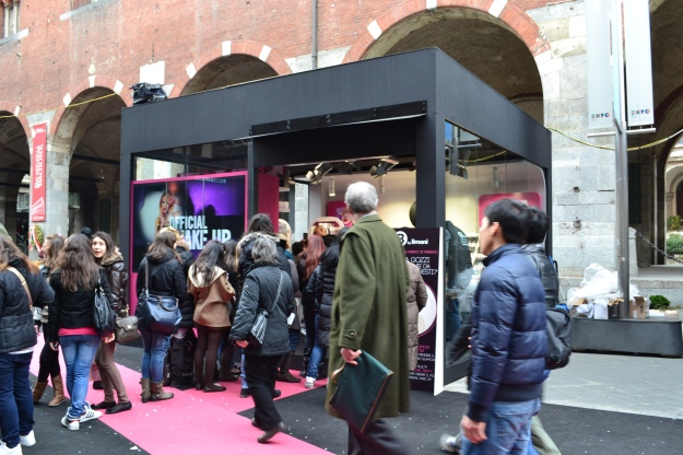 The Beauty Boxes - Milan Fashion Week