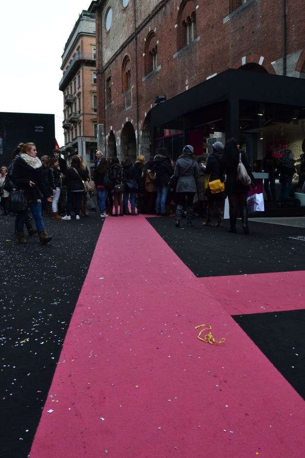 The Red Carpet in Milan during Fashion Week