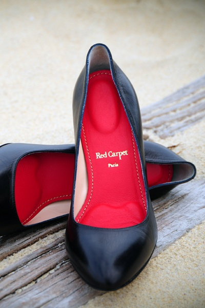 "Red Carpet Insoles, ""Red Collector"" Model - Leather"