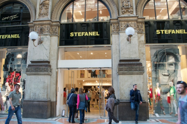 Fashion Bloggers Event @ the Stefanel Store, Galleria Vittorio Emanuele II, Milan