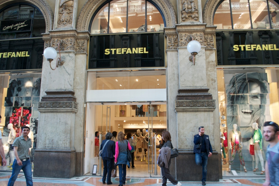 Fashion Bloggers Event @ the Stephanel Store, Galleria Vittorio Emanuele II, Milan