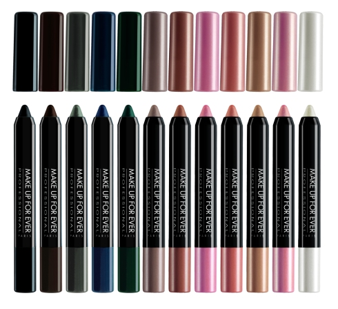 Make Up For Ever - Waterproof Aqua Shadow Collection