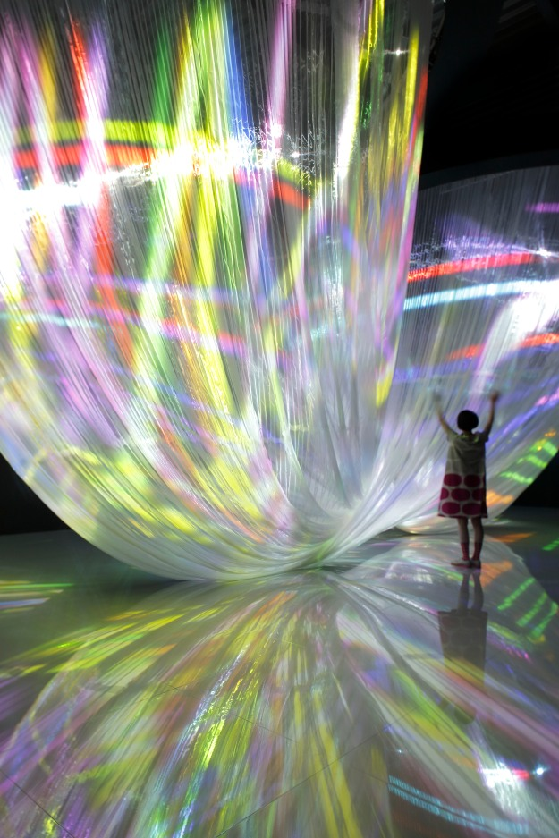 "Canon ""Neoreal in the Forest"" Installation @ Temporary Museum for New Design"
