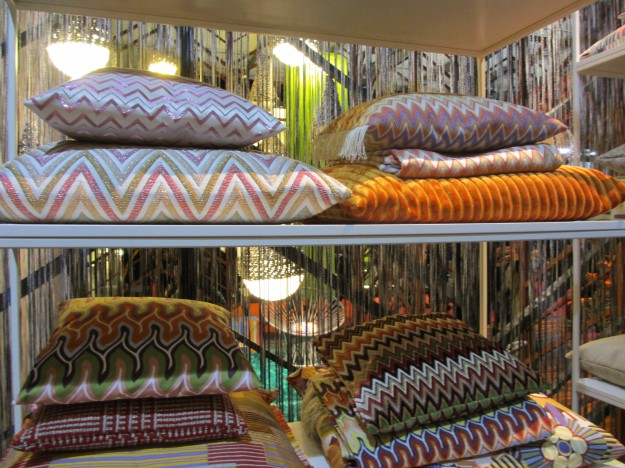 Missoni Home 2012 Collection Milan Furniture Fair