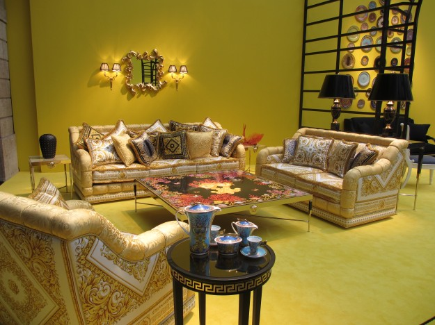 The Versace Home 2012 Collection during Milan Design Week