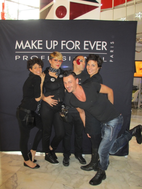 Make Up For Ever Event @ the Boscolo Hotel