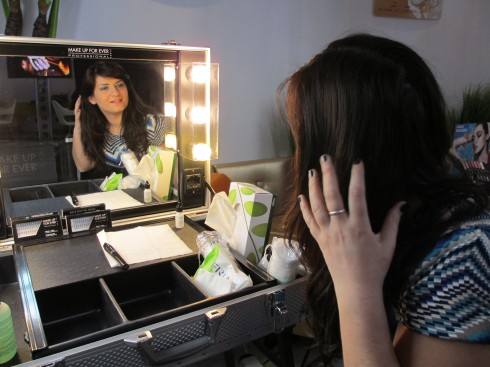 Make Up For Ever the Boscolo Hotel