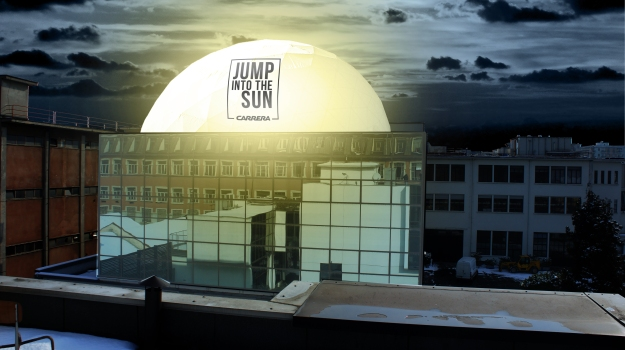 "Carrera ""Jump into the Sun"" Installation @ Temporary Museum for New Design"