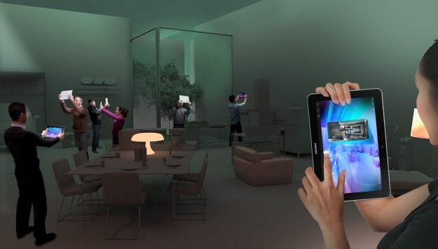 "Samsung ""Four Minutes into the Future"" Installations @ Temporary Museum for New Design"