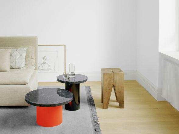 e15 - ENOKI & BACKENZAHNEN Side Tables