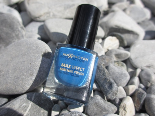 Max Factor, Max Effect, Mini Nail Polish, Candy Blue