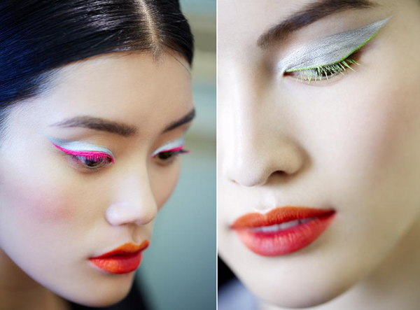 Dior Fall/Winter 2012, Makeup