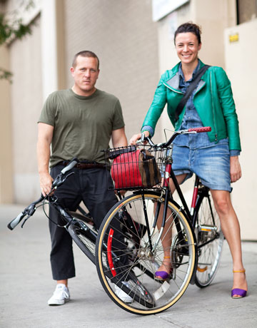 New York Fashion Week Street Style - Garance Dore & Scott Schuman
