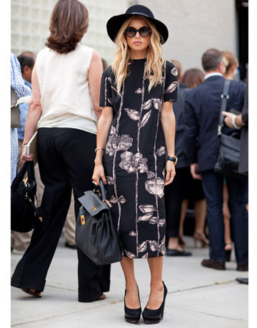 New York Fashion Week Street Style - Rachel Zoe