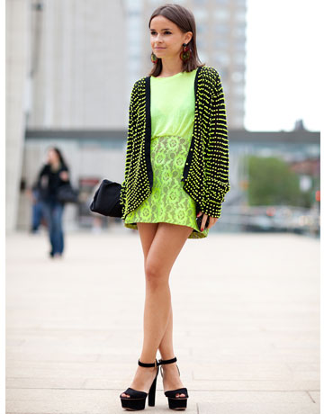 New York Fashion Week Street Style - Miroslava Duma