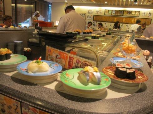 Kaitenzushi Heirokuzushi Omotesando Sushi Bar Tokyo