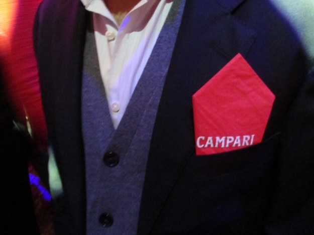 Campari Calendar Reveal Party Penelope Cruz