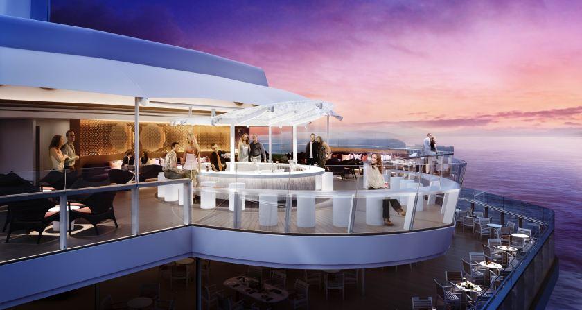 Image result for celebrity reflection sunset bar