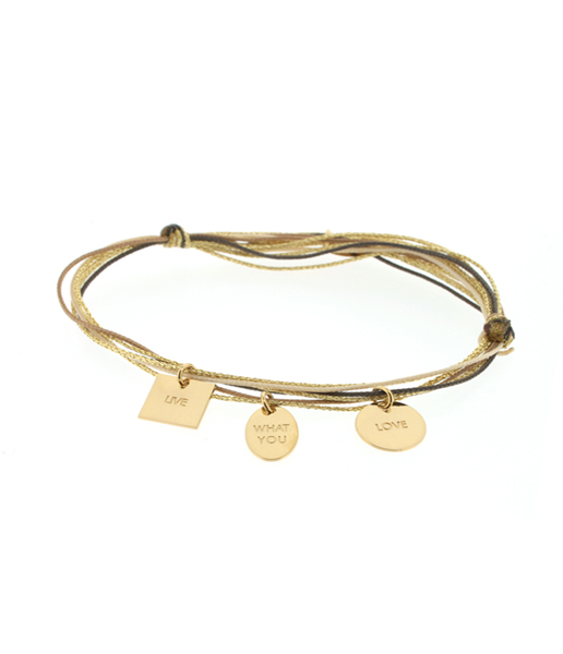 CARATIME La Mome Bijou bracelet Live What You Love 90 €