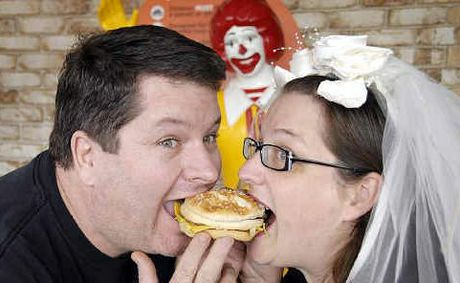 McDonalds Wedding