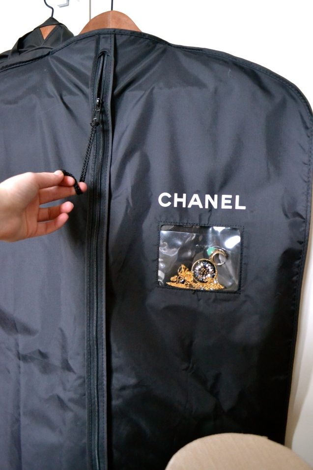 e8aa0b29db87 Chanel Hangers and Garment Bags  from Rue Cambon.. to my Wardrobe ...