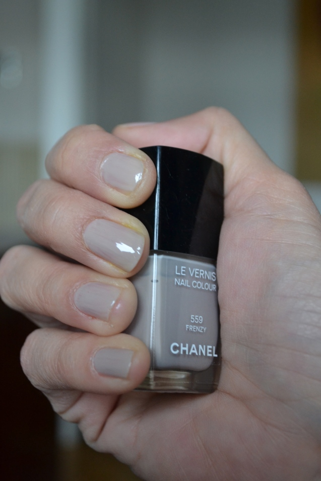 Frenzy Chanel Nail Tutorial Manicure