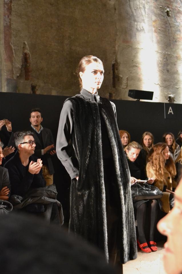 Simonetta Ravizza Fashion Show Milan Fashion Week Fur