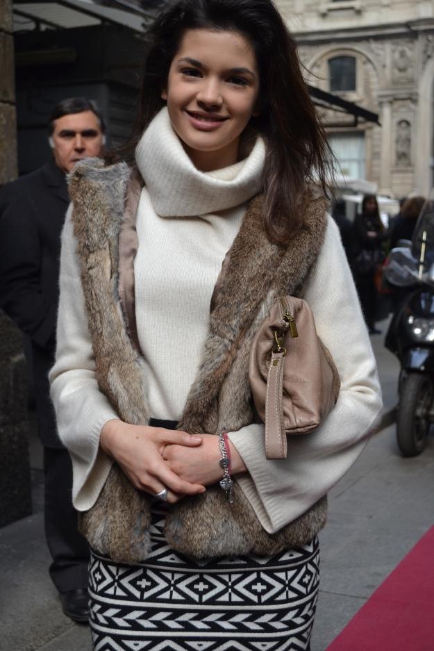 Milan Street Style Italian Fur
