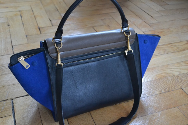 Celine Bag Trapeze Blue