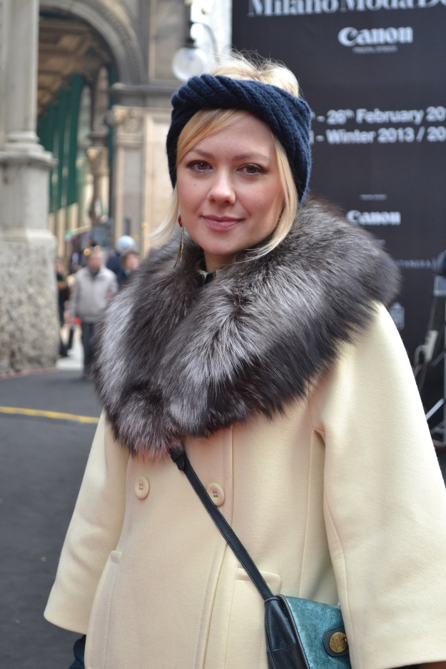 Milan Street Style Italian Fur Milan Fashion Week