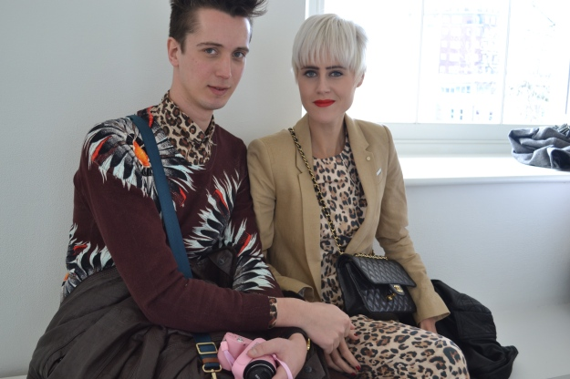 Front Row Vivienne Westood Fashion Show London Red Label