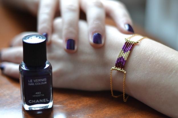 Manicure Nail Art Tutorial Chanel Caroline Najman
