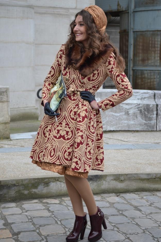 Paris Fashion Week: Street Style Vintage