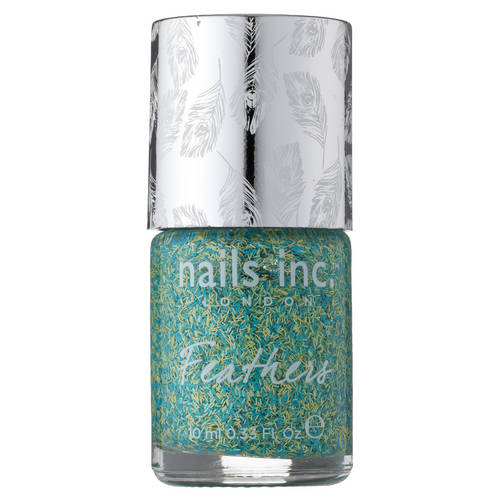 feathers effect polish nails inc