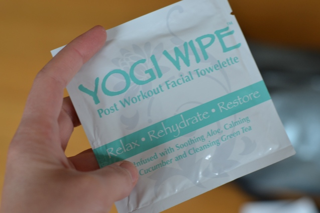 yoga face wipe yoga accessories