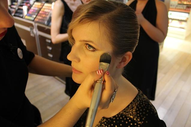 make up for ever make up tutorial red carpet evening make up