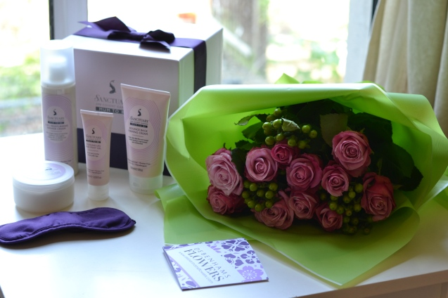 debenhams flower and pampering gifts set pampering gift for new mum mum to be