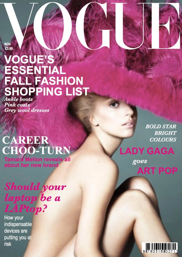 British Vogue November Issue