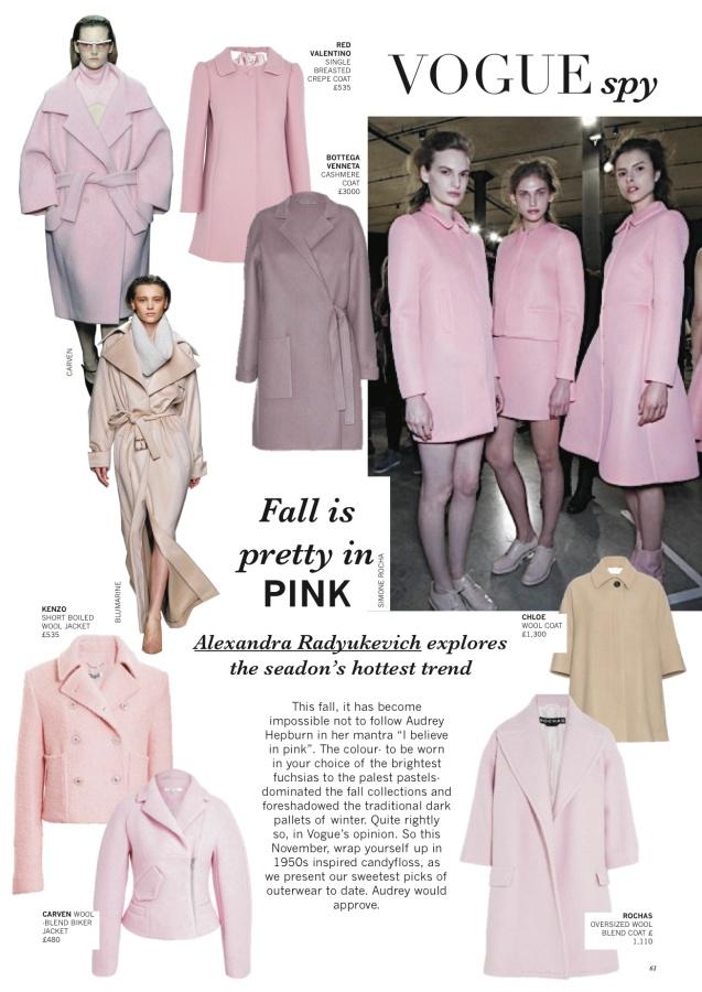 British Vogue November Issue
